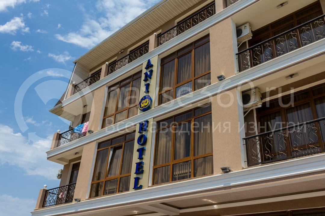 Фасад  гостиницы Ani в Сочи 3