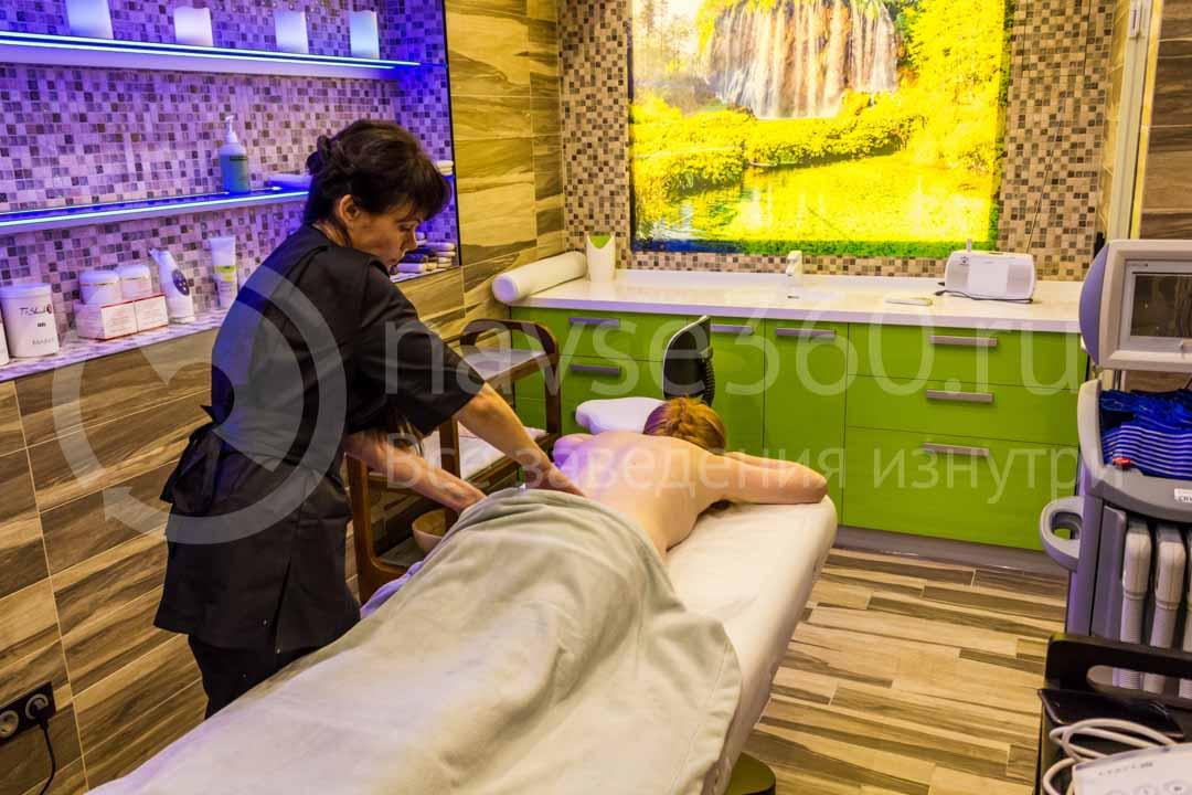 Кабинет массажа в салоне Ambassador