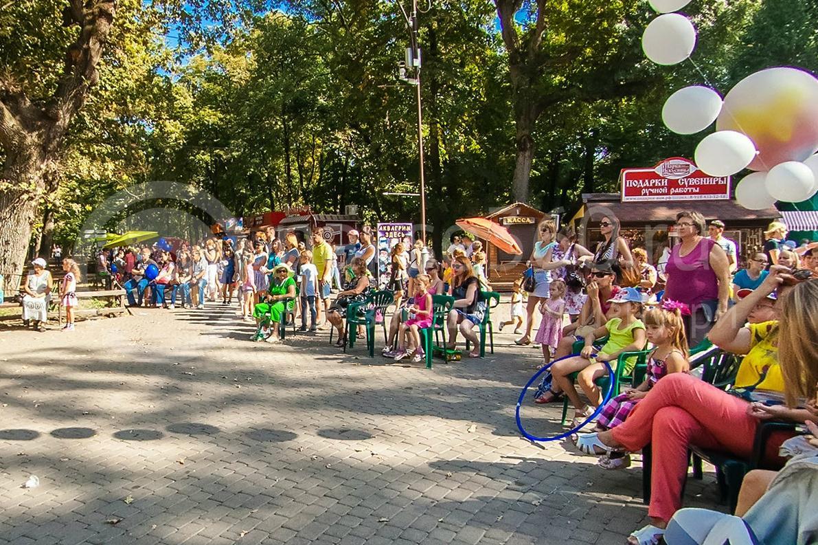 День города Краснодара 2015 г. городской парк