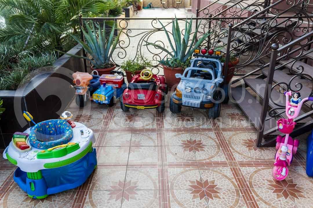 Детская площадка гостиницы Papaya Park Hotel в Сочи