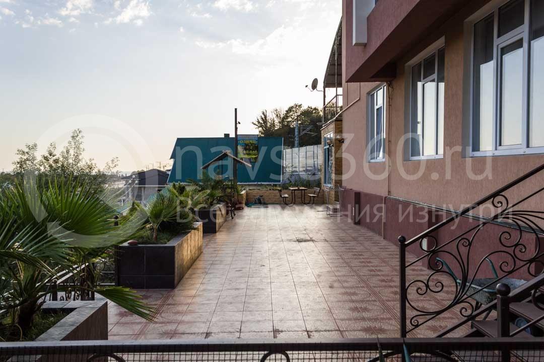 Вид из гостиницы Papaya Park Hotel в Сочи 2