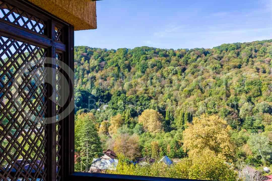 Вид из гостиницы Orange Star Сочи