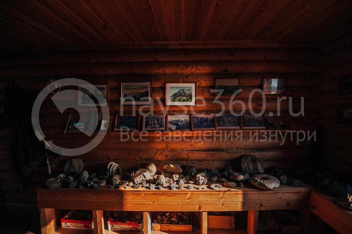 Турбаза Горная Кубань Мезмай, музей 4