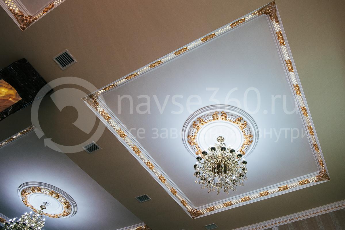 Ресторан, Банкетный зал, Опера палас, Краснодар, холл первого этажа, люстра