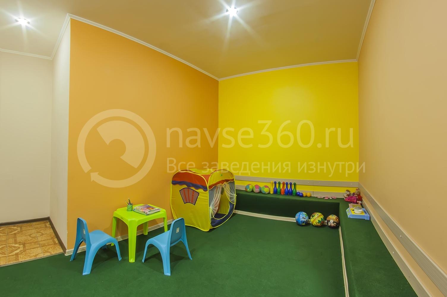 детская комната в банкетном зале