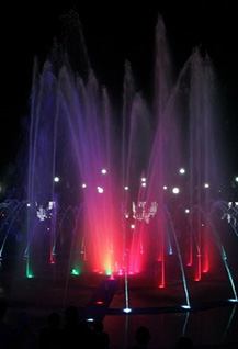 Детский праздник и шоу «Поющие фонтаны»