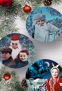 Новогодние фильмы на проекторе!