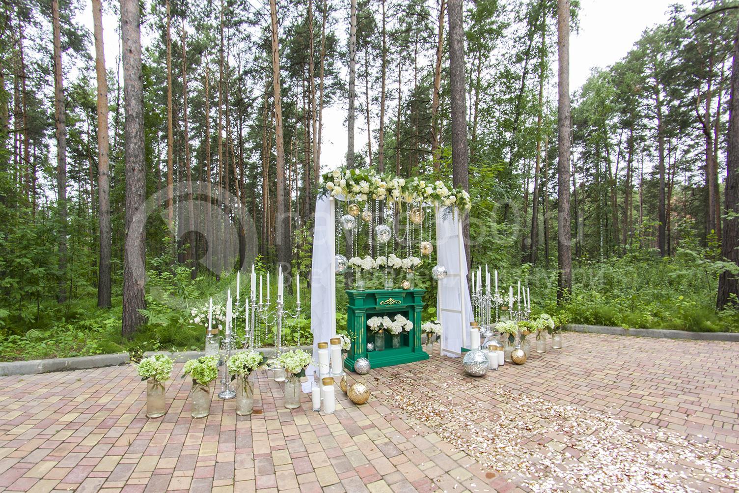 Оформление свадьбы в пансионате Былина
