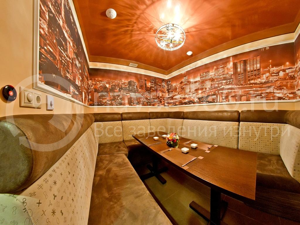 ресторан в кино кабинки 2
