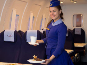 Самолет, кафе