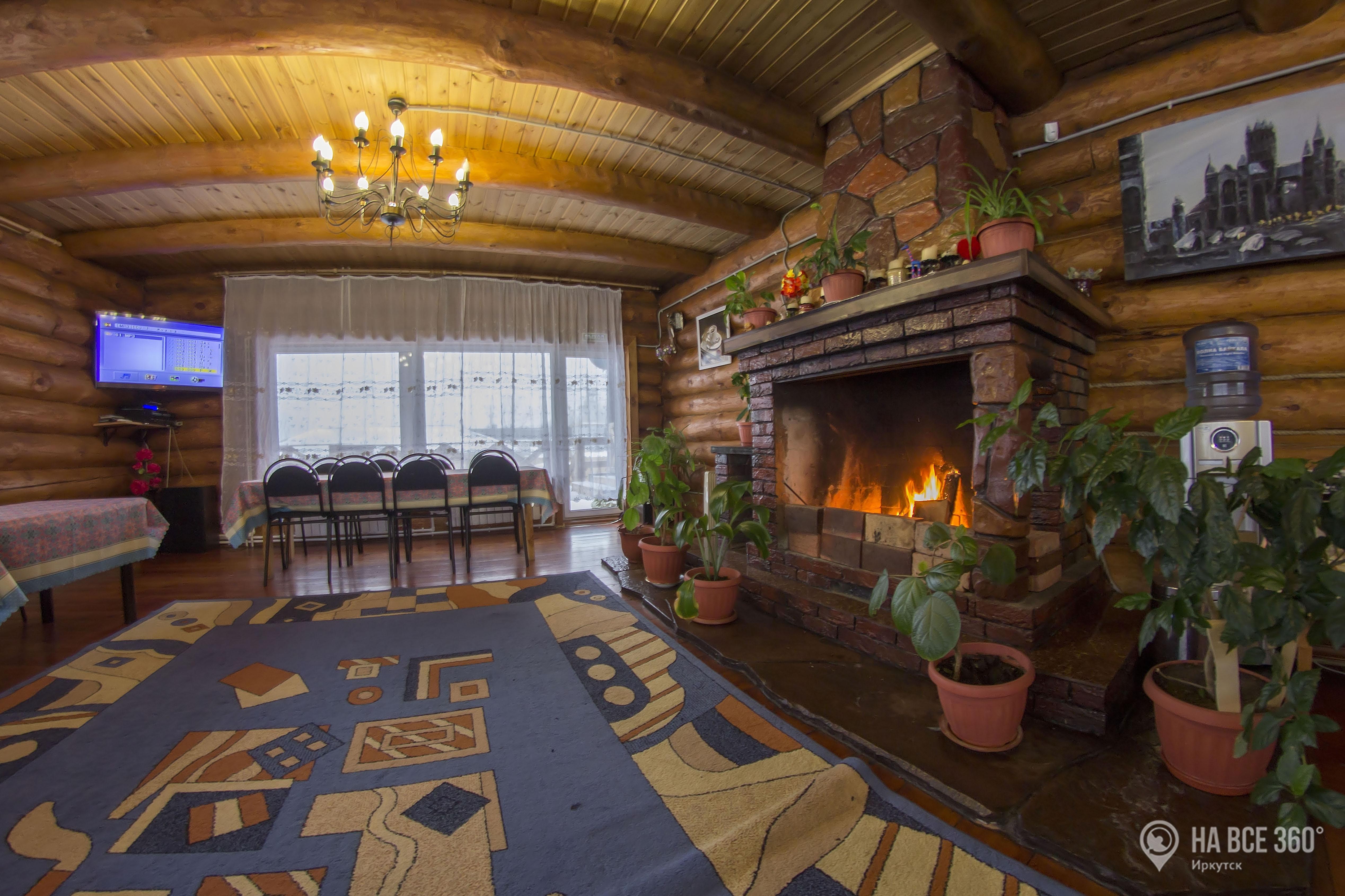 Гавань Байкала гостевой дом в Листвянке