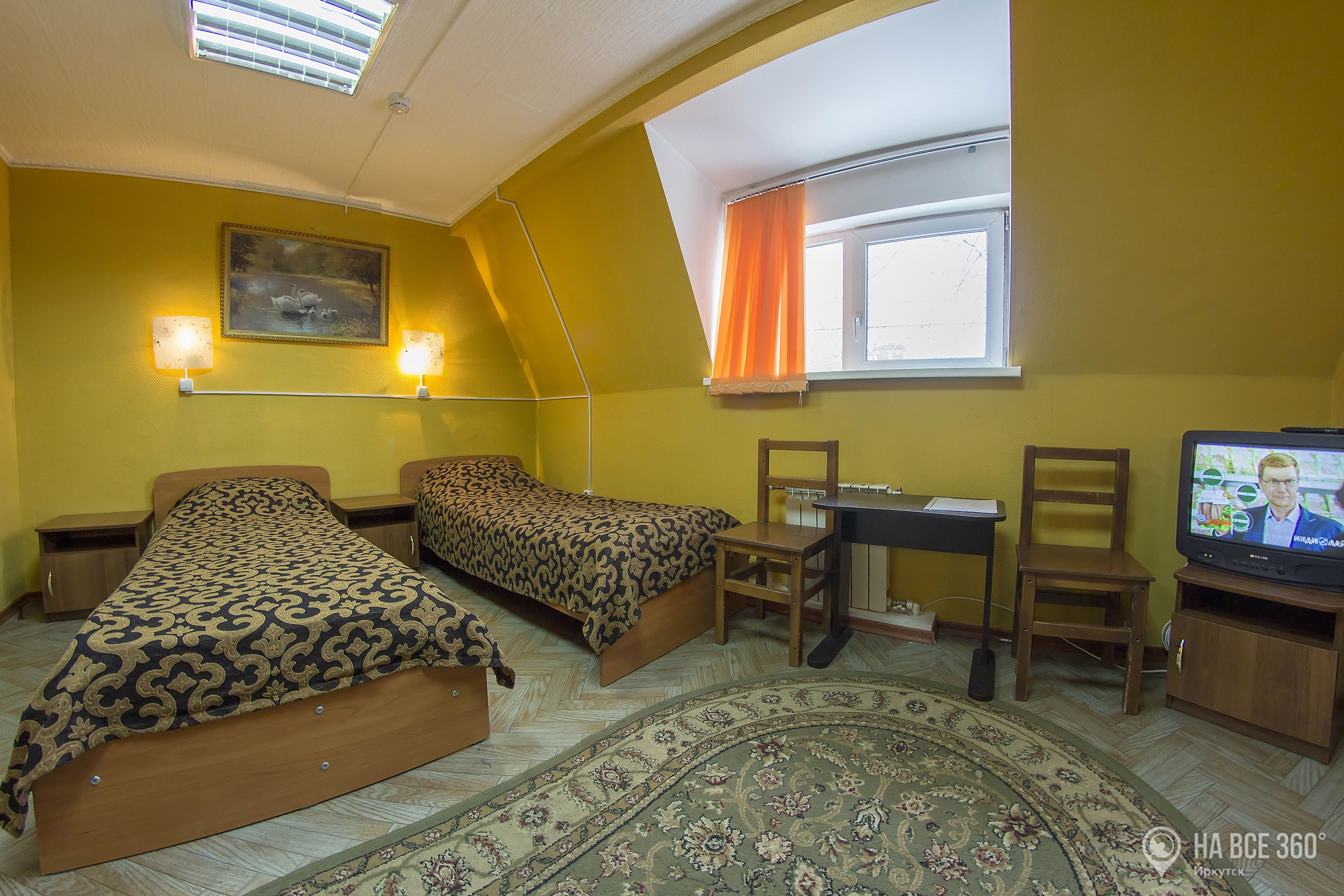 Гостиница Сказка в Иркутске