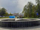 Фонтан в парке Победы