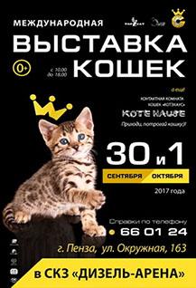 Международная выставка кошек «Золотая кошка»