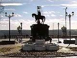 Смотровая площадка в парке имени А.С. Пушкина, вид на Успенский собор XII в.