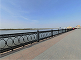 Центральная городская набережная р. Волга