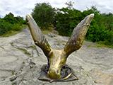 Скульптура Орла