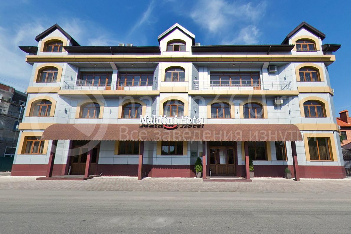 Гостиница Мальдини, Краснодар, фасад