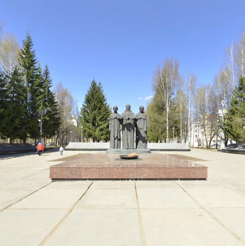 Мемориал в честь воинов, погибших в годы Великой Отечественной войны