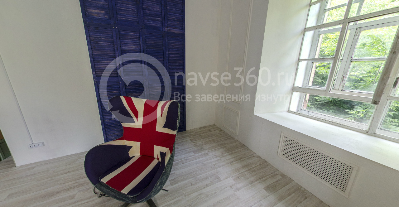Light room blue chair Loft Stalinka