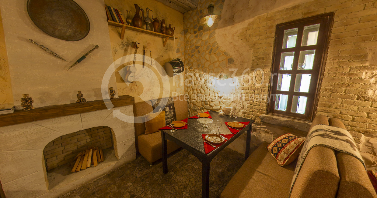Зал ресторана Кавказский дворик