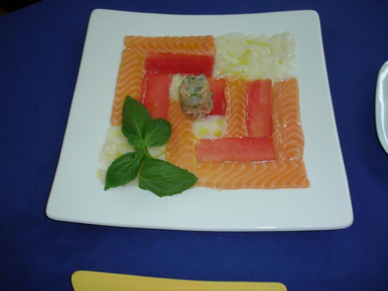 Фирменные блюда ресторана Акварели в Краснодаре