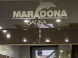 Марадона, сауна