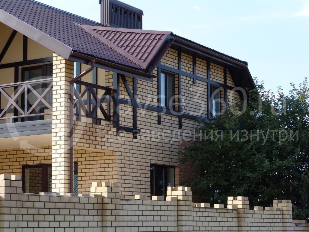 Оформление фасада дома ООО ТАУБАШ