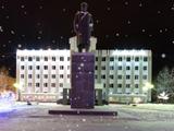 Площадь Ленина, зима