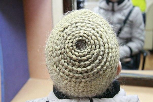круговое плетени
