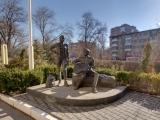 Памятник студентам-стройотрядовцам