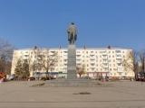 Памятник В.И. Ленину на площади Ленина