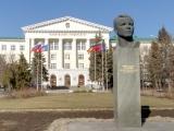 Памятник Ю.А. Гагарину на площади Гагарина
