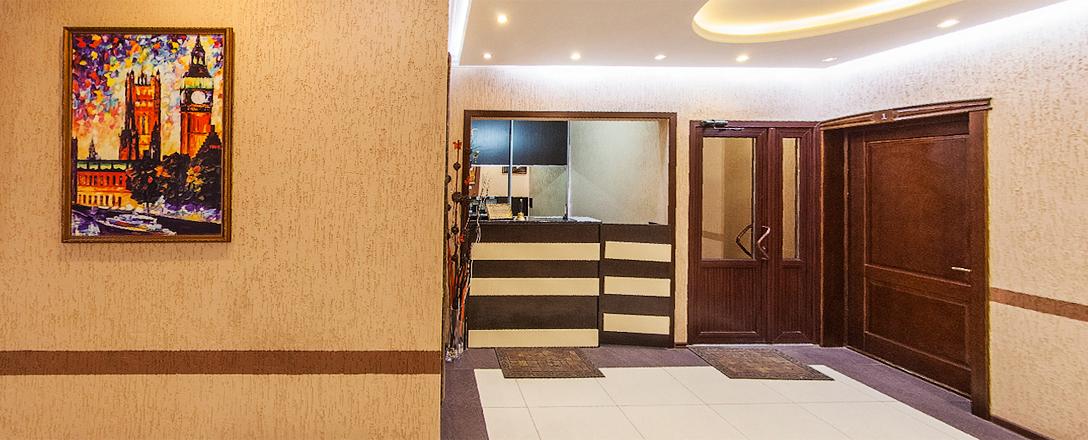 Гостиница Альянс в районе аэропорта Краснодара