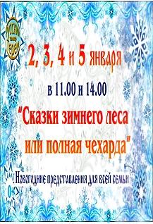 Спектакль «Сказки зимнего леса или полная чехарда»