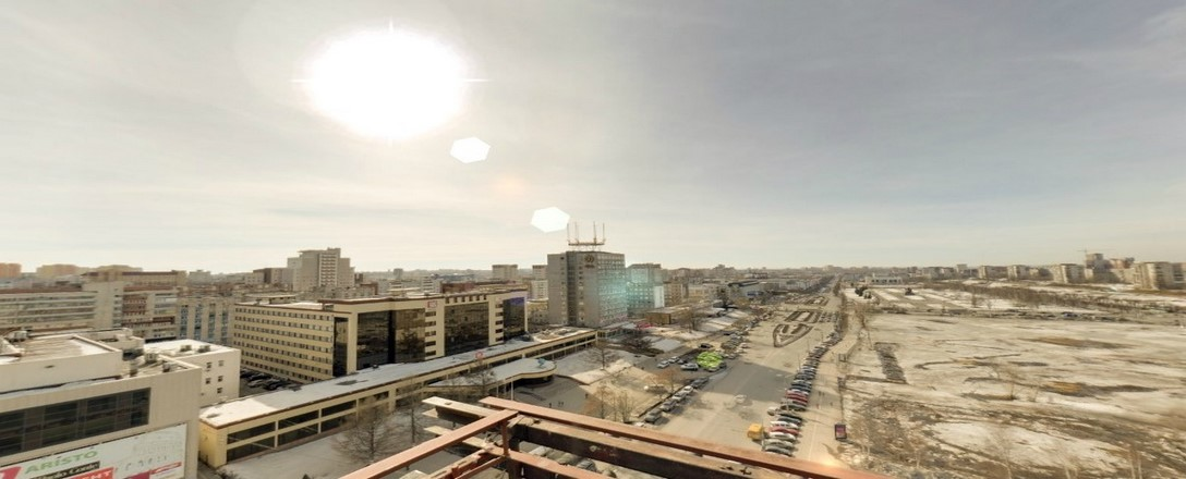 Тур с крыши Администрации города