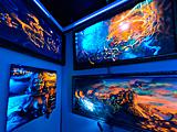 Выставка картин с невидимыми красками!