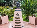 Вечная память павшим воинам, монумент