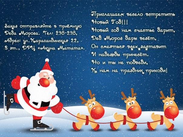 Новый год вместе с Акуна Матата