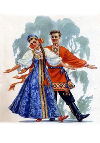Хореографический коллектив Калинка, отчетный концерт